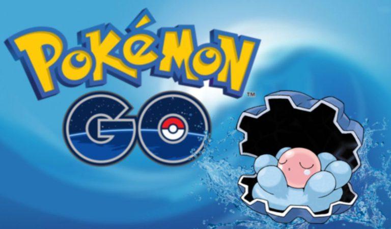 Este fin de semana llega Clamperl a Pokemón Go.