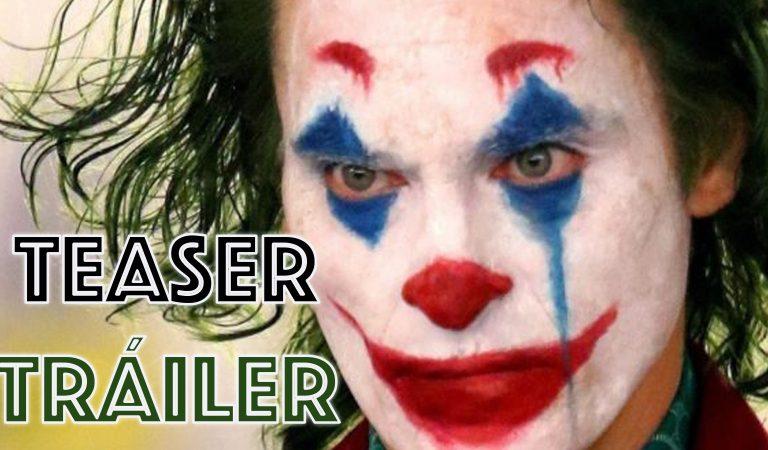 Joker Teaser Tráiler. Sonríe si te duele el corazón