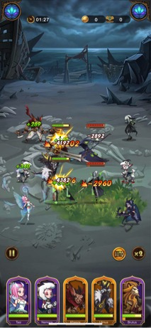Combate AFK Arcana