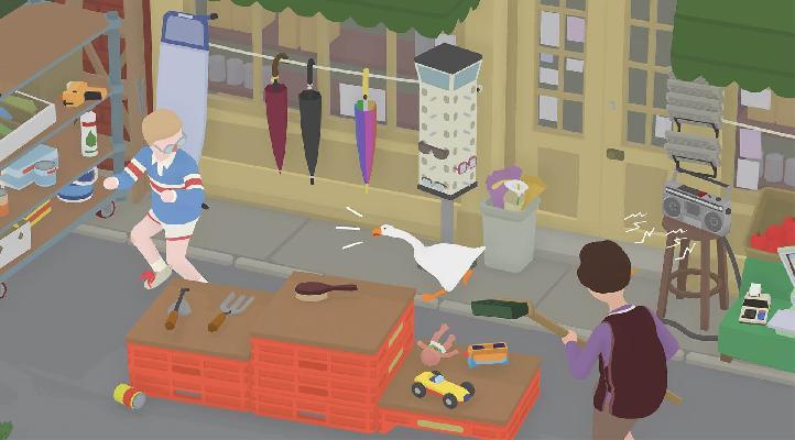Encuentran un easter egg en el soundtrack de Untitled Goose Game