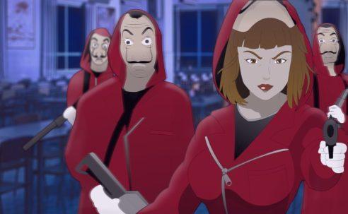 VIDEO   Openings de la Casa de Papel al estilo de anime