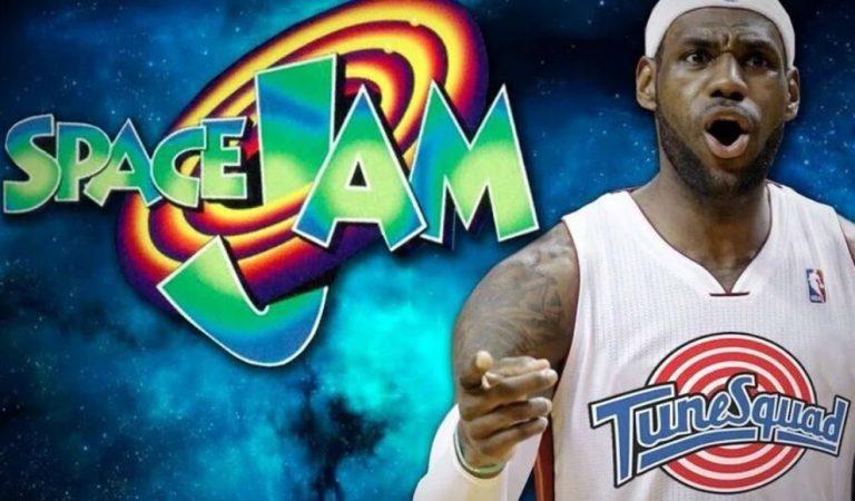 LeBron James reveló el logo y nombre de la película de Space Jam