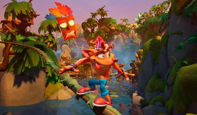 Crash Bandicoot 4 muestra el contenido de su demo en un nuevo trailer