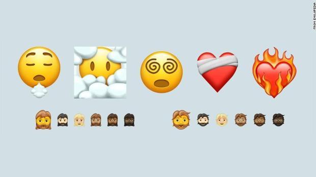 Nuevos emojis llegaran en el 2021 a iOS y Android