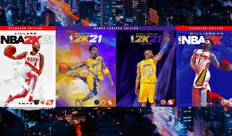 Todas las versiones y novedades de NBA2K21