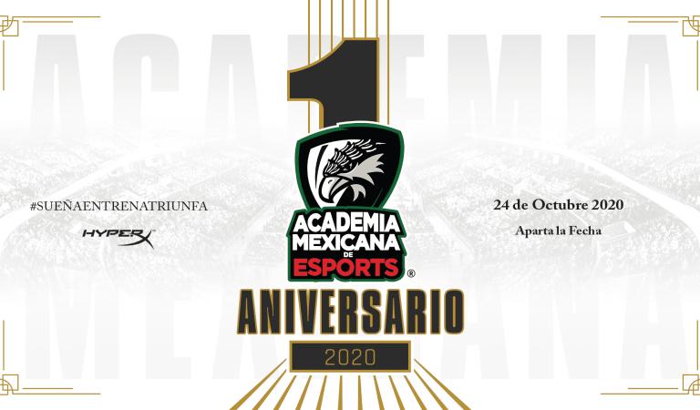Celebra el primer aniversario de La Academia Mexicana de Esports