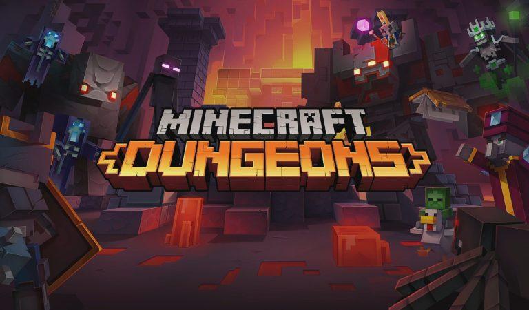 Anuncian la llegada del crossplay para Minecraft Dungeons