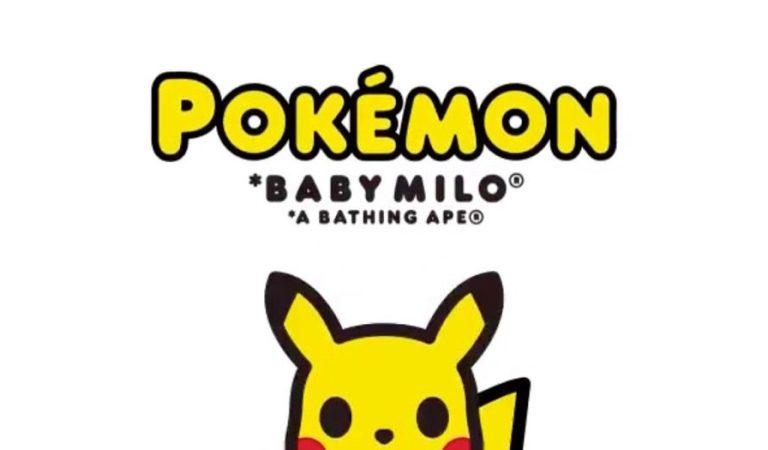 BAPE revela su colaboración con Pokémon para BABY MILO