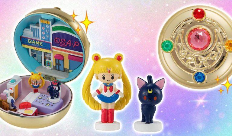 Conoce la colección miniatura de Sailor Moon