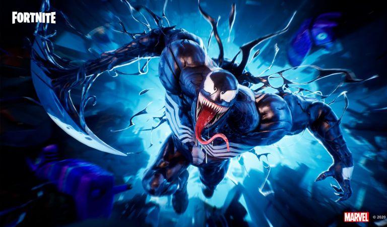 Venom llega por tiempo limitado a Fortnite