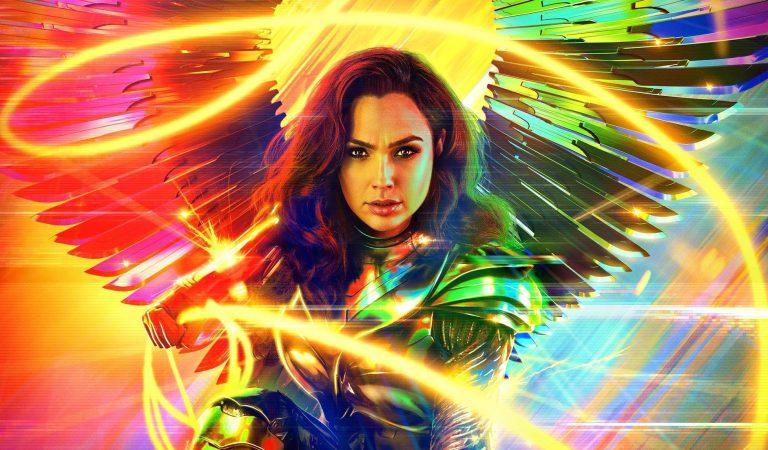 Lanzan nuevo póster de Wonder Woman 1984