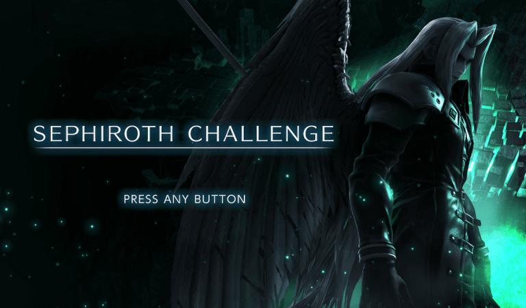 [VIDEO] ¿Podrás derrotar a Sephiroth?