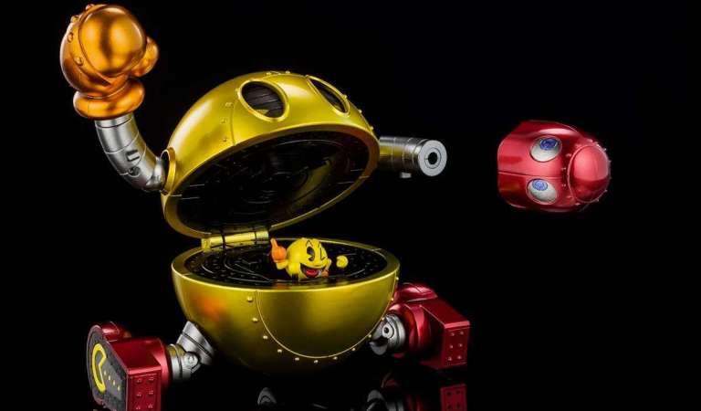 Conoce el primer Mecha de Pac-Man