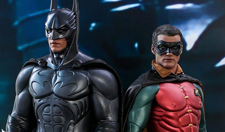 Hot Toys presenta las nuevas figuras de 'Batman Forever'