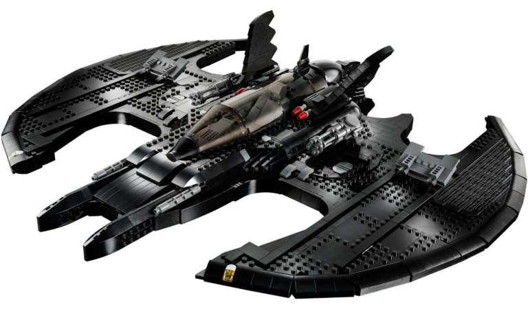 LEGO lanza el 'Batwing' de Batman de 1989