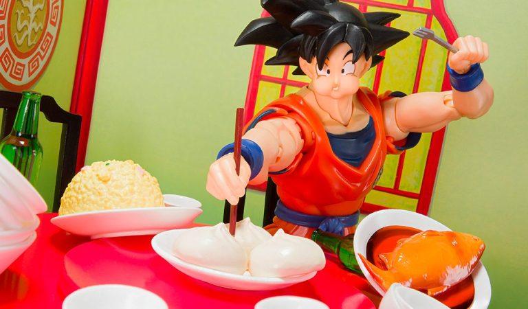 Bandai presenta una curiosa figura de Goku
