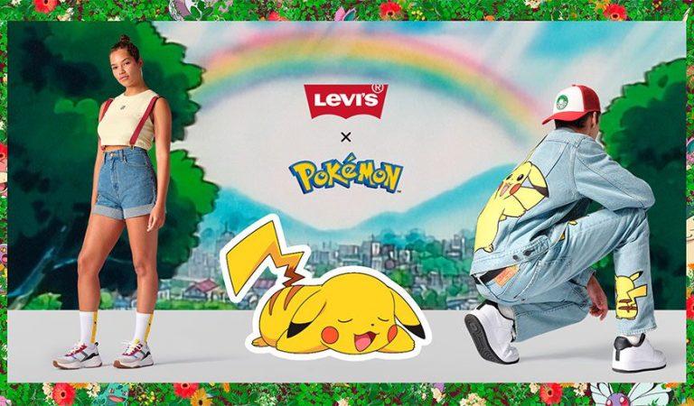 Ya está disponible la colaboración de Pokémon con Levi's