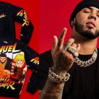 Anuel AA y Capcom lanzan su colaboración con 'Street Fighter'