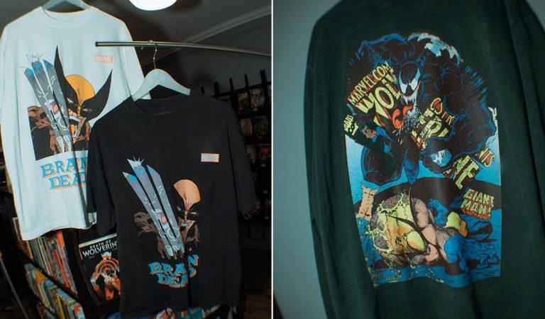 Conoce la nueva colaboración de Brain Dead y Wolverine