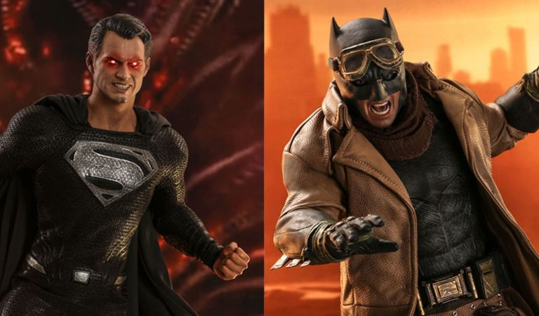 Hot Toys presenta sus figuras basadas en 'Zack Snyder's Justice League'