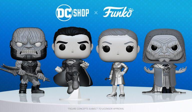 Conoce los Funko Pop de 'Zack Snyder's Justice League'
