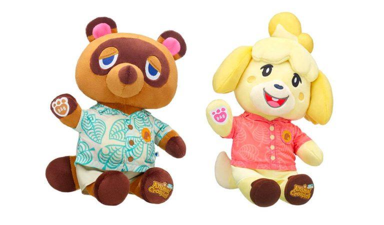 La colección 'Animal Crossing: New Horizons' by Build-A-Bear se agota en horas