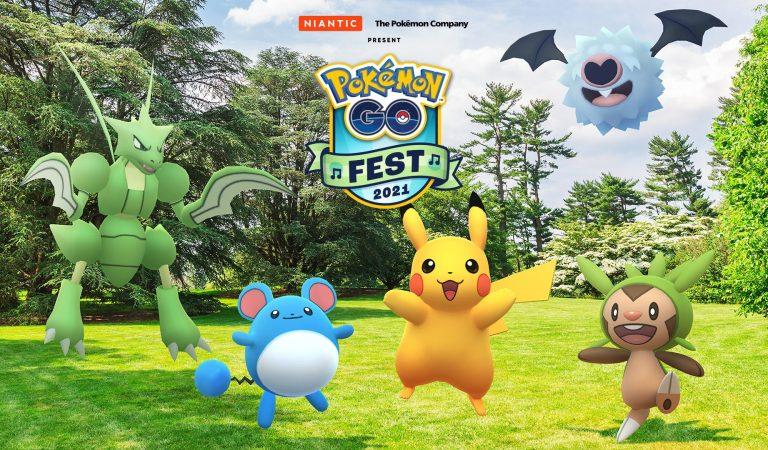 El 'Pokémon GO Fest' regresa este 2021
