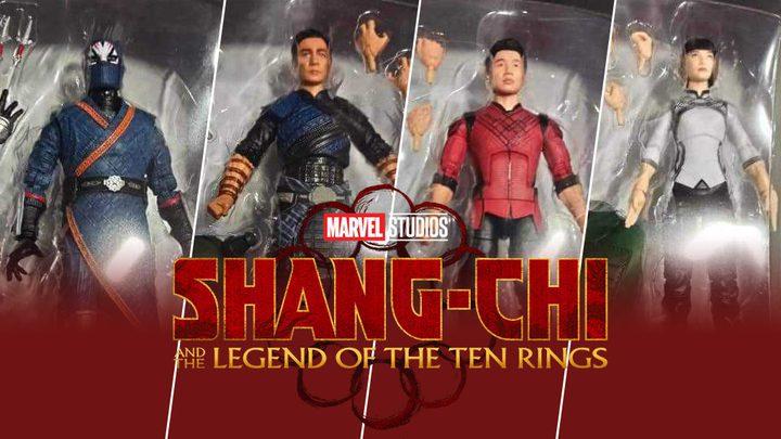 Figuras de 'Marvel Legends' revelan a los protagonistas de 'Shang-Chi'