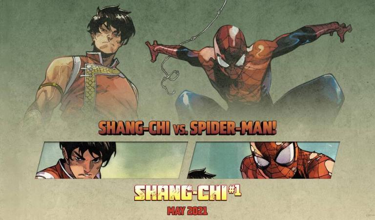 Marvel revela el primer vistazo al nuevo comic de 'Shang-Chi'