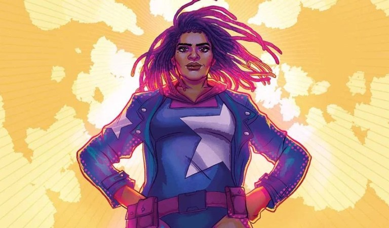 Marvel Cómics presenta a su nueva 'Capitana America'