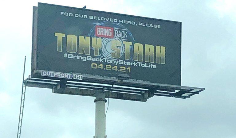 Fanáticos inician campaña para pedir el regreso de Iron Man al UCM