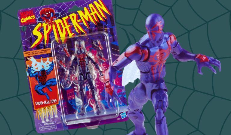 Spider-Man 2099 llega a 'Marvel Legends Retro Collection'