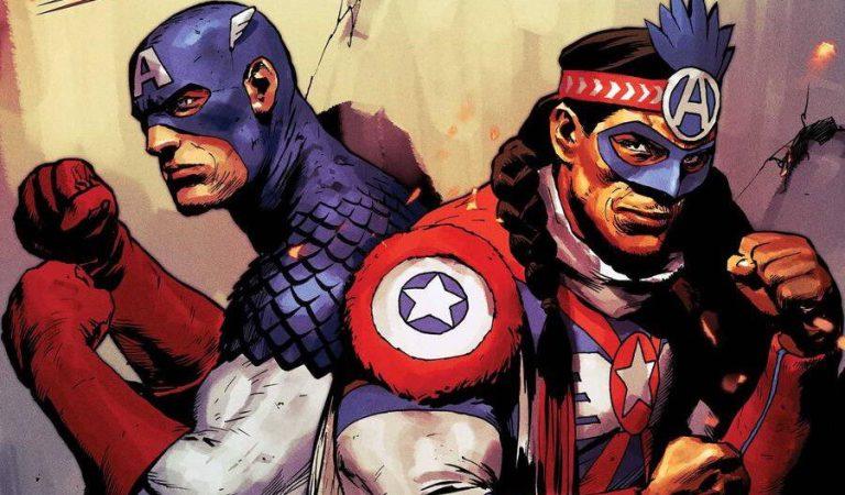 Marvel presenta un nuevo Capitán América Nativo Americano