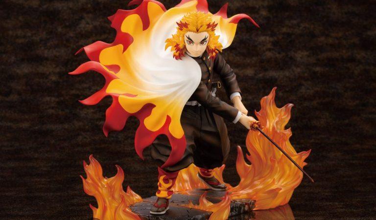 Kotobukiya presenta su figura de Kyōjurō Rengoku de 'Demon Slayer'