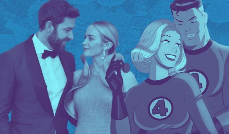 [RUMOR] John Krasinski y Emily Blunt a punto de firmar con Marvel para el reboot de Fantastic Four
