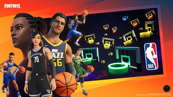 El Modo Creativo de Fortnite le da la bienvenida a la NBA