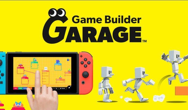 Game Builder Garage llegará a Nintendo Switch