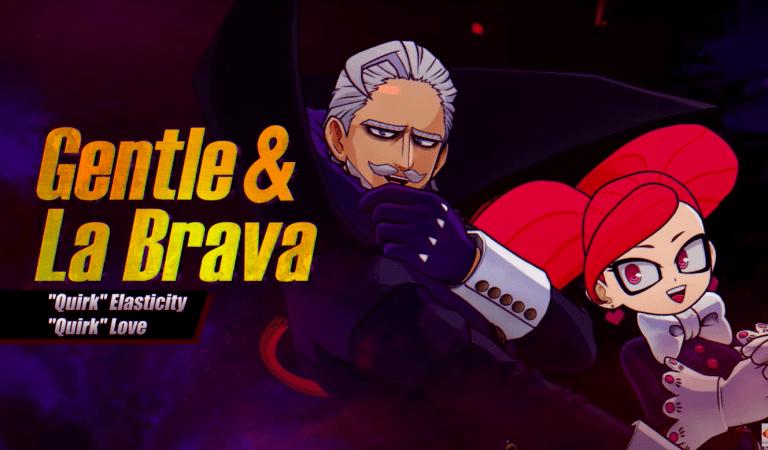[VIDEO] Gentle & La Brava llegan MY HERO ONE'S JUSTICE 2