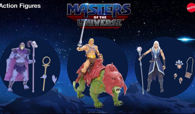 Conoce la línea de juguetes de 'Masters of the Universe: Revelation'