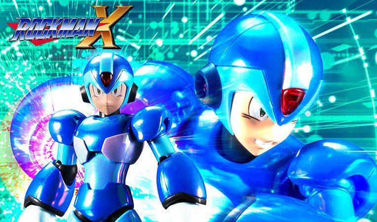 Conoce la figura exclusiva de 'Mega Man X' de Kotobukiya