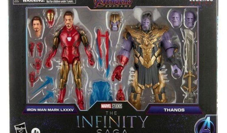 La batalla final de Iron Man y Thanos llega a 'Marvel Legends'