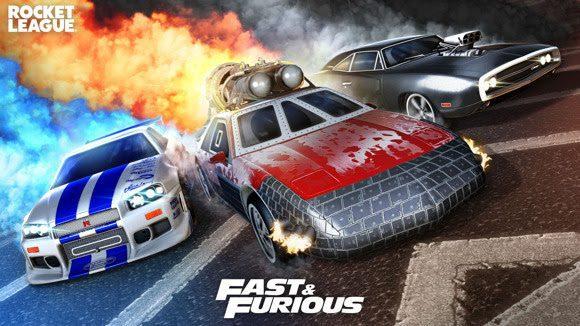 Rocket League tendra contenido de Fast & Furious