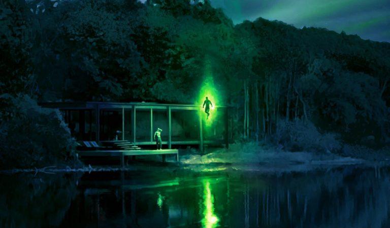 Snyder revela arte conceptual de Green Lantern en la Liga de la Justicia