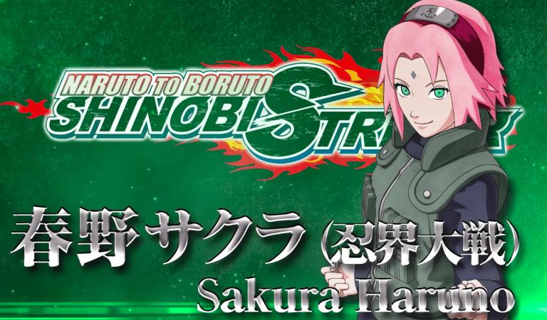 [VIDEO] Sakura Haruno llega a NARUTO TO BORUTO: SHINOBI STRIKER