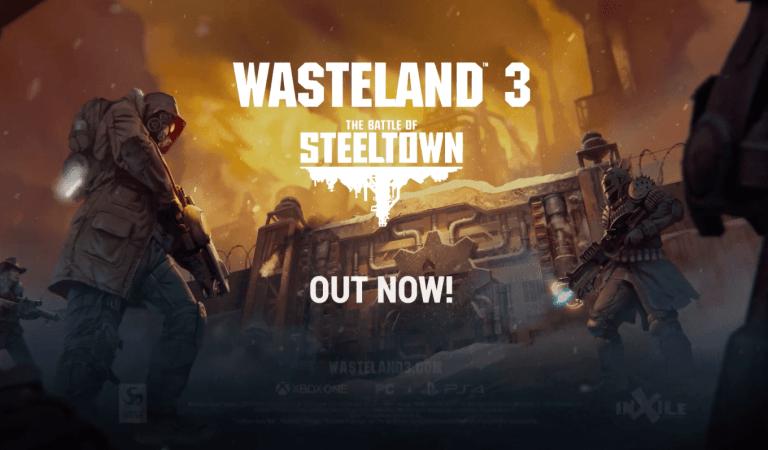 [VIDEO] Wasteland 3: The Battle of Steeltown ya está disponible