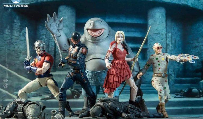 McFarlane Toys anuncia sus figuras basadas en 'The Suicide Squad'