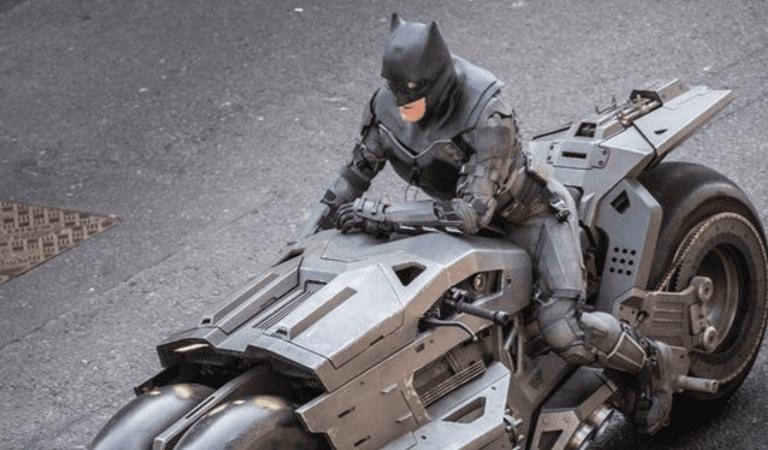 Revelan nueva imagen de Batman en The Flash