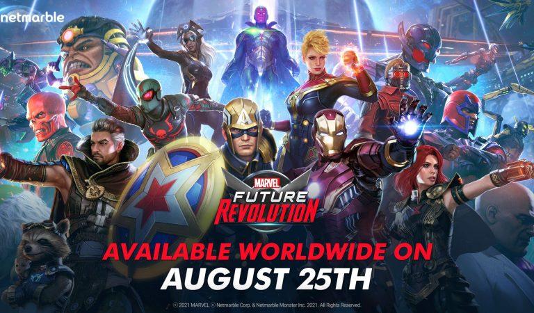 El título móvil Marvel Future Revolution llegará en agosto