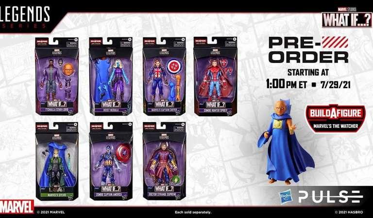 Hasbro presenta las figuras de la serie What If …?