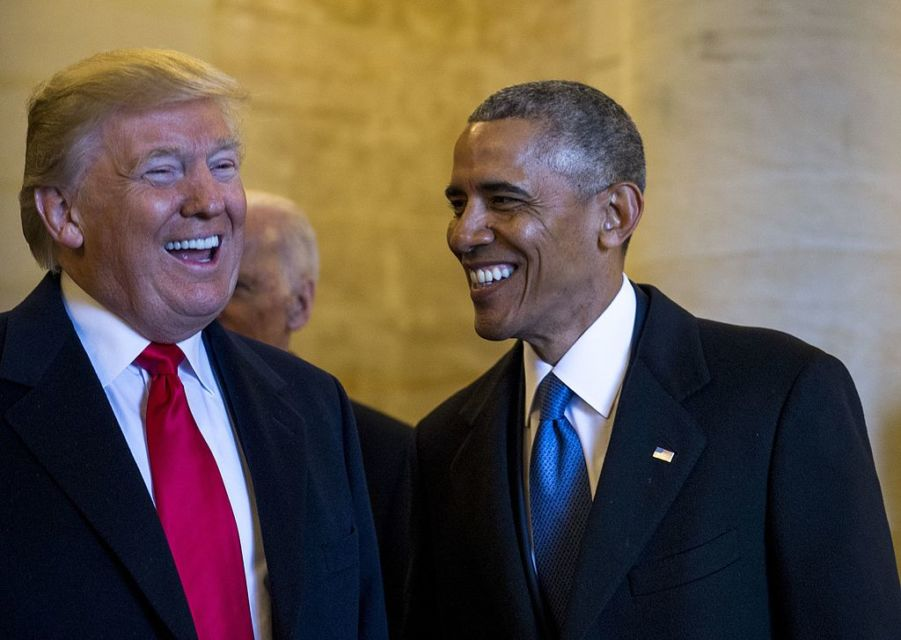 The Presidential Legacies of Donald Trump and Barrack Obama